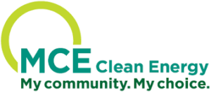 "Marin Clean Energy logo with tagline ""My Community, My Choice"""