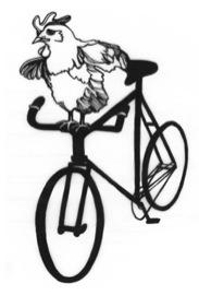 Chickenonabike