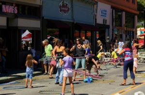 The Fourth Annual Streets for People, August 30 2015!