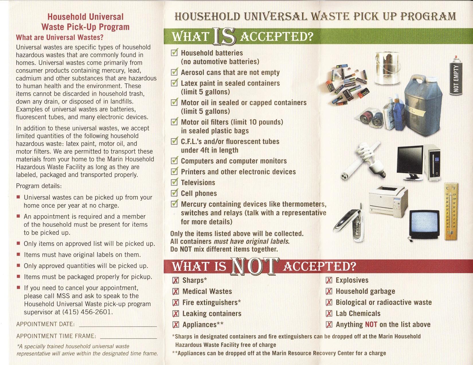 Fairfax Hazardous Waste Pickup p2