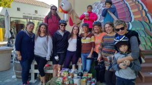 Pedal Powered Food Drive: A Success!