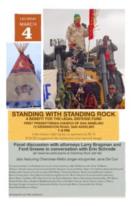 Standing with Standing Rock: Saturday, March 4